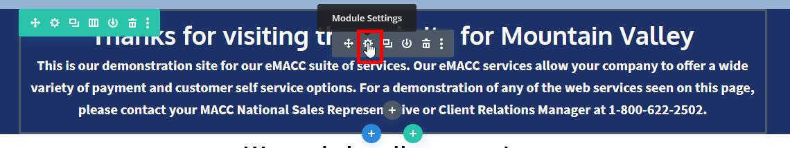 Using the Visual Editor 1